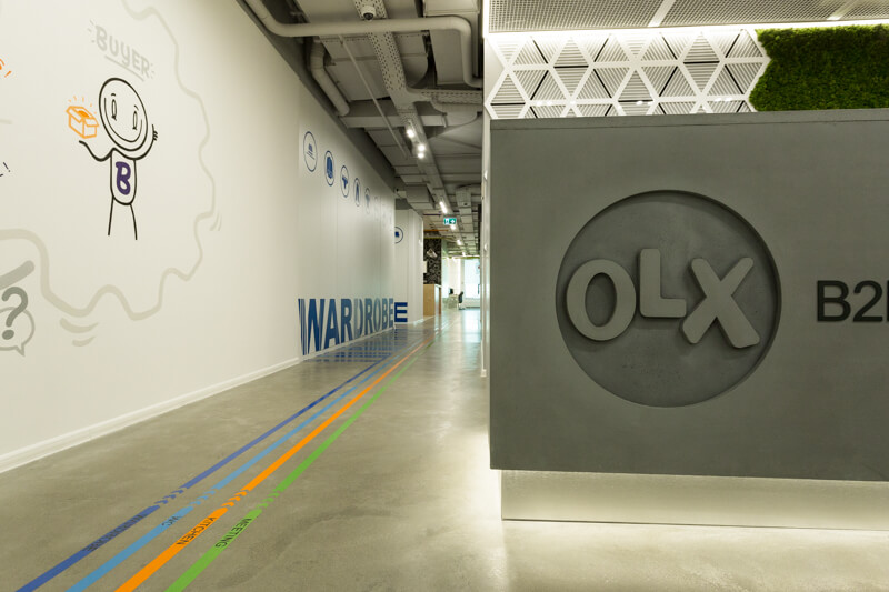 OLX B2B Unit New Office | Project Management, Cost Management ...